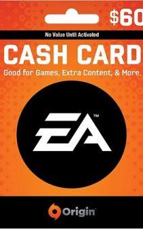 EA Origin Wallet Card $60